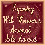 Tapestry Animal Site Award