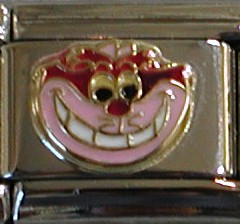 18K gold Cheshire Cat charm from Disney Alice in Wonderland