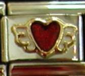 Zoppini Stevie Nicks winged wild heart charms