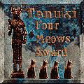Tenuki Four Paws Award