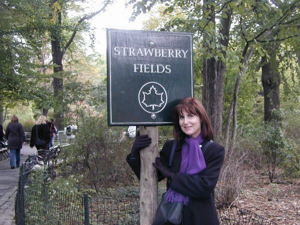 Strawberry Fields in Central Park New York City