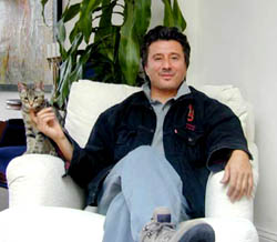 Steve Perry loves animals