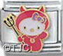 Hello Kitty Little Devil Charm