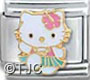 Hello Kitty Hula Girl Charm