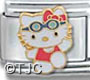 Hello Kitty Swimmer Charm