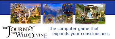 The Journey To Wild Divine shamanic computer game