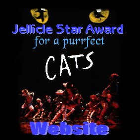 Jellicle Star Award for the Perfect Jellicle Website