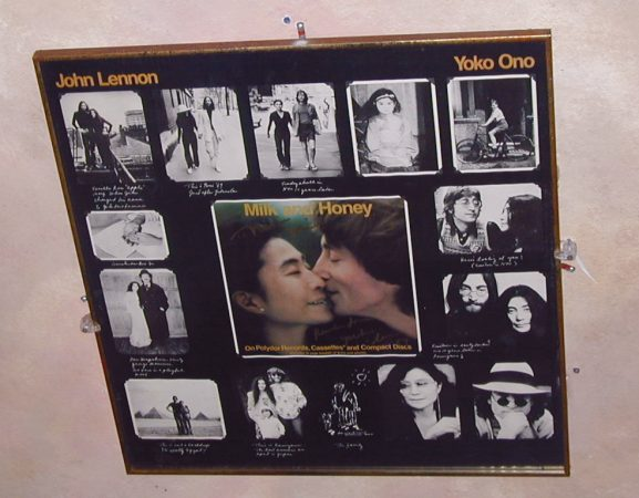 Pictures of John Lennon and Yoko Ono