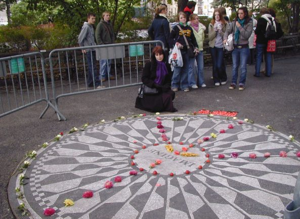 Imagine Mosaic in Strawberry Fields